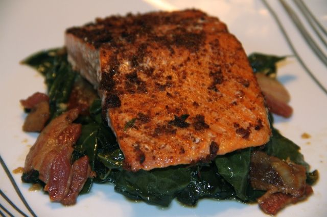 SCD Smoked Paprika Oven Roasted Salmon | Sea | Pinterest