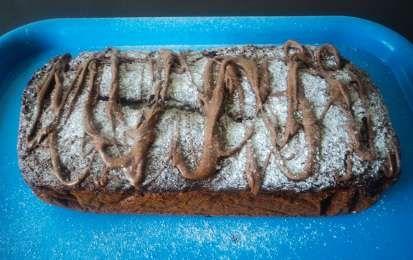 Plumcake alla Nutella - La ricetta del plumcake alla Nutella è un successo assicurato: un dolce ideale per la prima colazione e/o la merenda, arricchito dall'aggiunta della crema di nocciole all'impasto base del plumcake. Golosissimo!