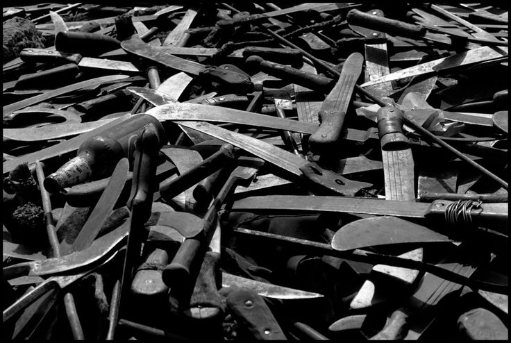 ZAIRE. Goma. 1994. Near the border of Rwanda.