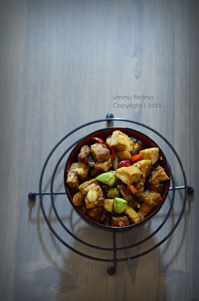 Simply Cooking and Baking...: Tumis Tahu Tempe Pete Pedas