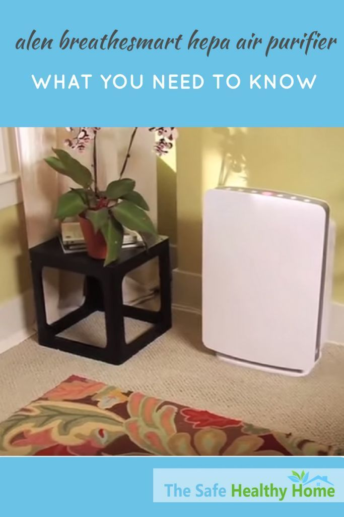 Alen BreatheSmart HEPA air purifiers are customizable for your individual needs. You can choose from 4 different types of filters and pick a color to match your decor. Covers a very large area, too. Read this review to learn about features, pricing and more.