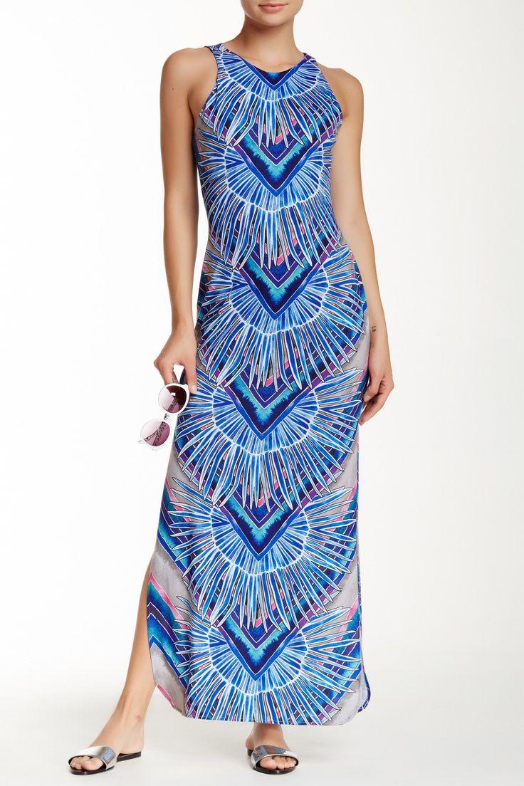 Sleeveless Column Maxi Dress by Mara Hoffman on @HauteLook