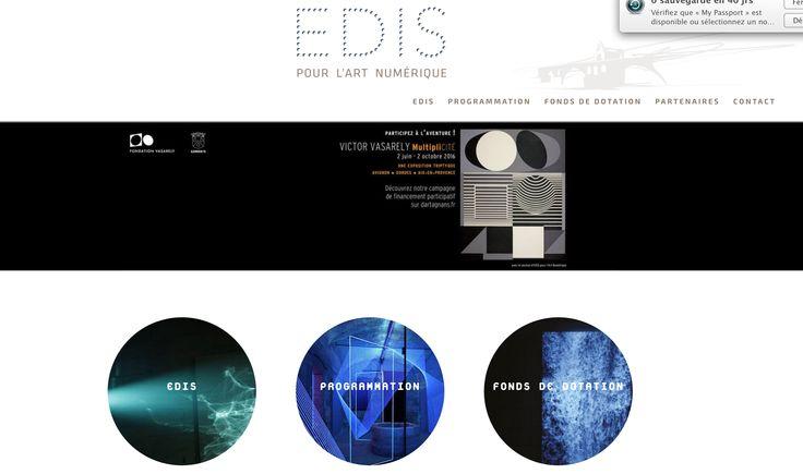 www.Edispourlart.fr Conception et développement : www.brindazar.fr design graphique J. Cosh