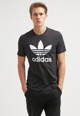 adidas Originals ORIG - T-shirt med tryck - black - Zalando.se