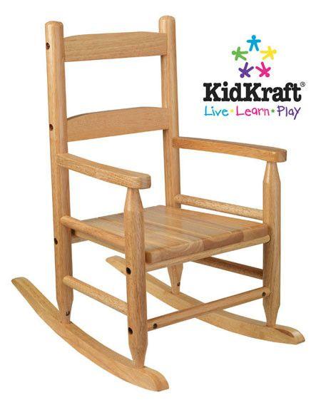 KidKraft 2 Slat Rocker Natural 18121 Natural Products and Rockers