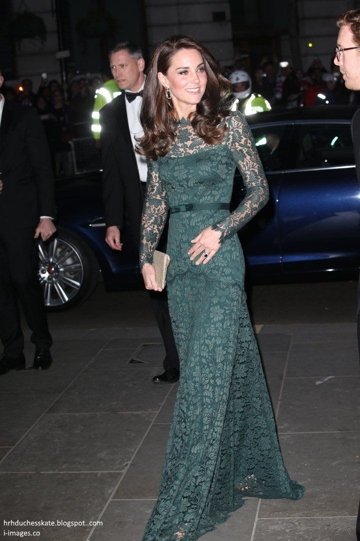 Duchess of Cambridge March 28, 2017 National Portrait Gallery