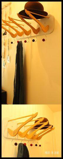 porte manteau cintre pinterest 2