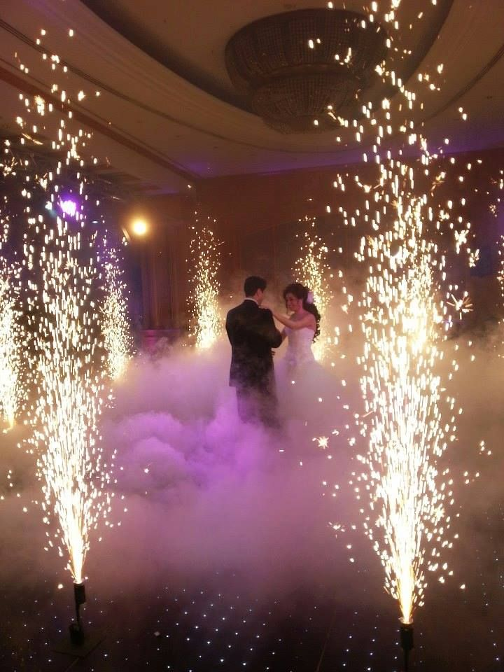 Low Fog Machine And Cold Flame Fountains