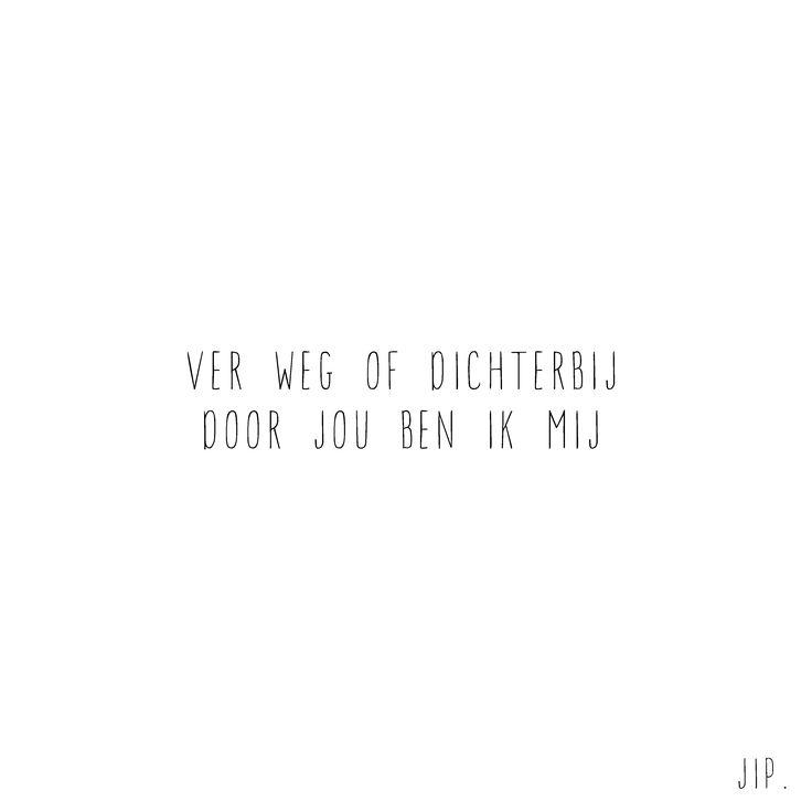 Gewoon JIP.  |Gedichten | Kaarten | Posters | Stationery | & meer © sinds feb 2014 | Liefde | Quote | Huwelijk | Bruiloft | Voordragen | Cadeau Huwelijk | Wedding decoration | Wedding inspiration | Wedding card | Ver weg of dichtbij | © Een tekstje van JIP. gebruiken? Dat kan! Stuur een mailtje naar info@gewoonjip.nl