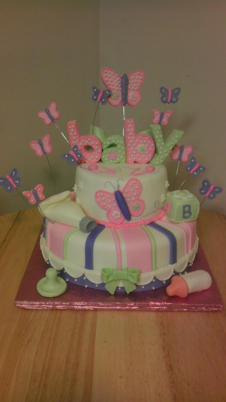 butterfly baby shower cake girl baby shower ideas pinterest baby