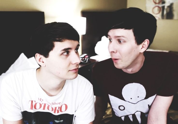 They are so adorable! But once again I feel the need to say that I do respect and believe them when they say their not a couple. I just think Phan is funny an that their cute.