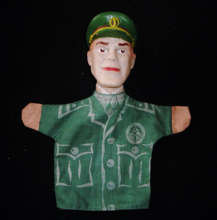 DAN DARE Glove Puppet 1950s