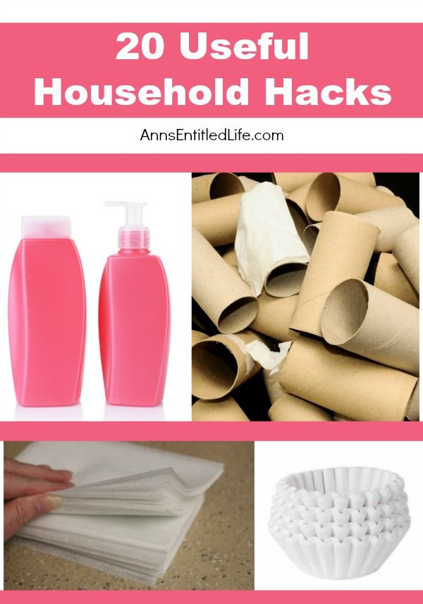 20 Useful Household Hacks