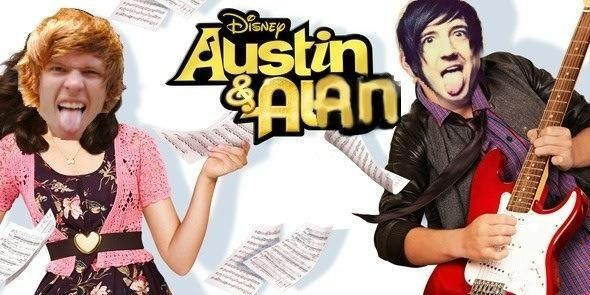 Austin Carlile & Alan Ashby <3 Omg this is perfect XD