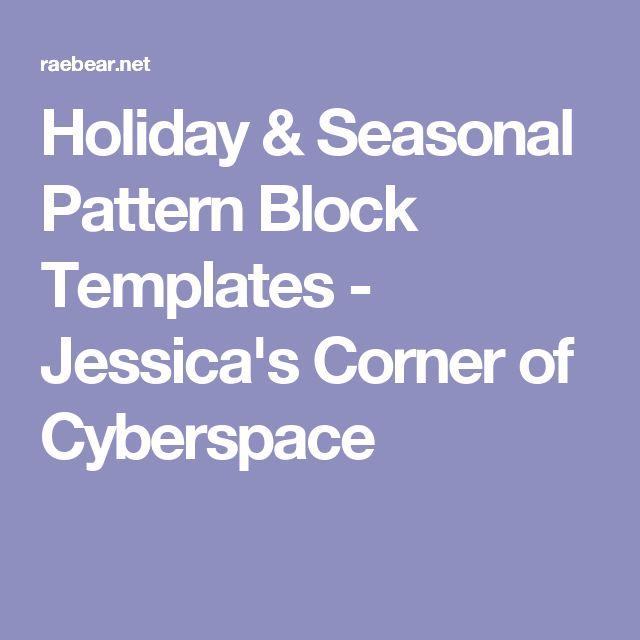 Best  Pattern Block Templates Ideas On   Pattern