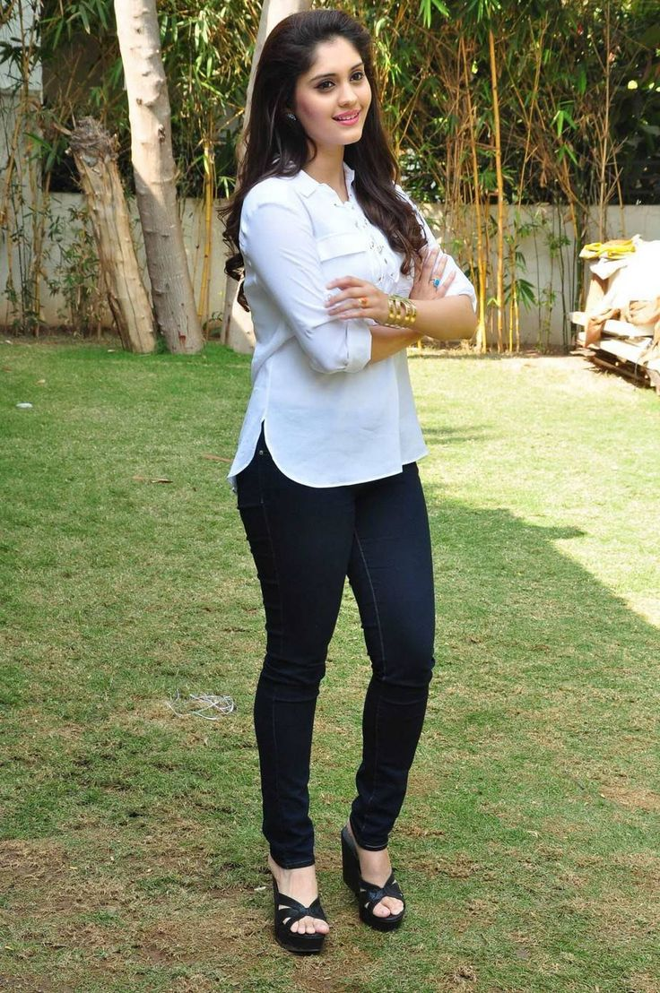 Surabhi Stills In White Top