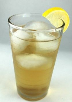 Thanksgiving Cider is a wonderfully simple cocktail that blends apple cider with a vodka flavored by pumpkin and spice. It's a warming drink, despite the ice, perfect for taking off a fall chill.