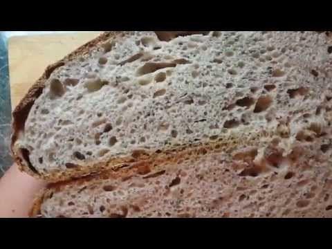 Snadný chléb pro každého -  kvaskovvý  ......,.,..!!!!!!!!!!!YouTube