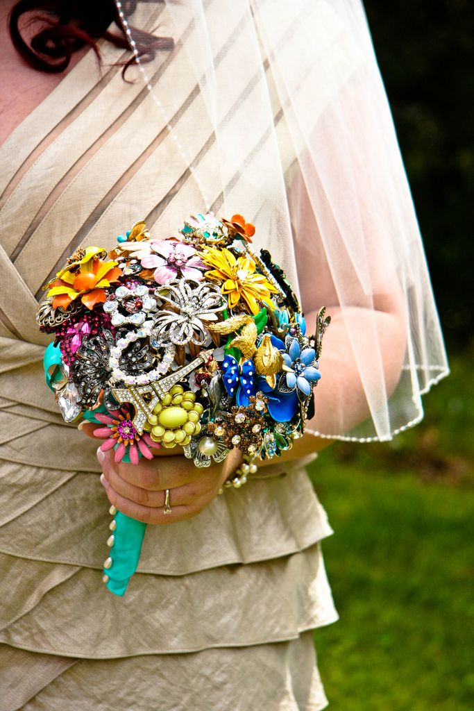 Цветов, необычный букет невесты купить киев