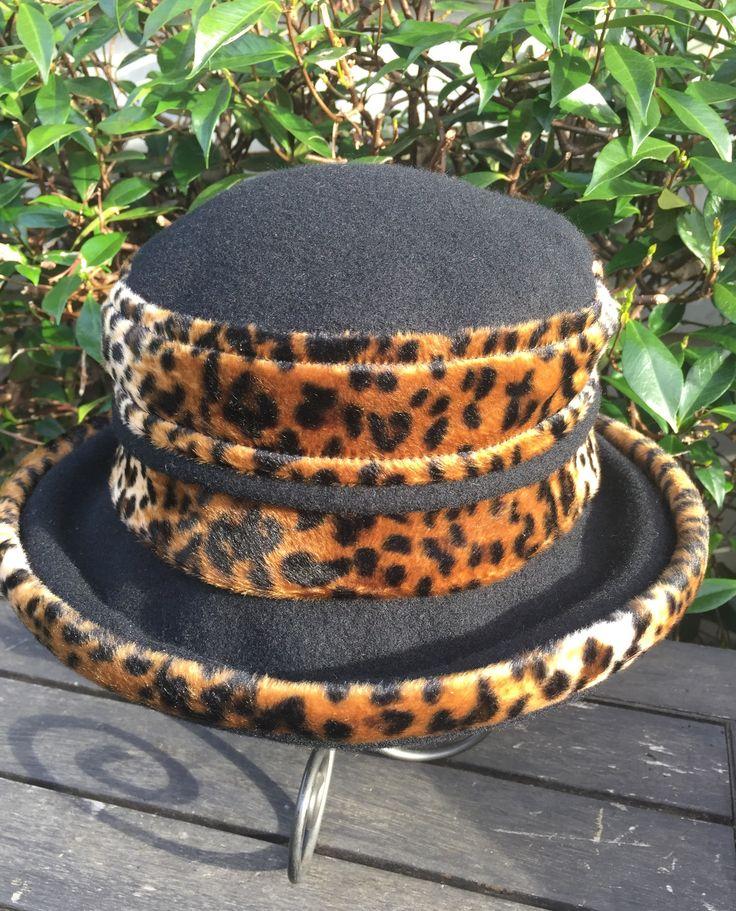 Merino 100% wool Animal Print Ocelot Hat Warm Winter leopardprint leopardskin onesize made in newzealand
