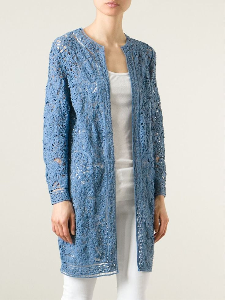 Blue cotton 'Sophie' coat from Ralph Lauren Black