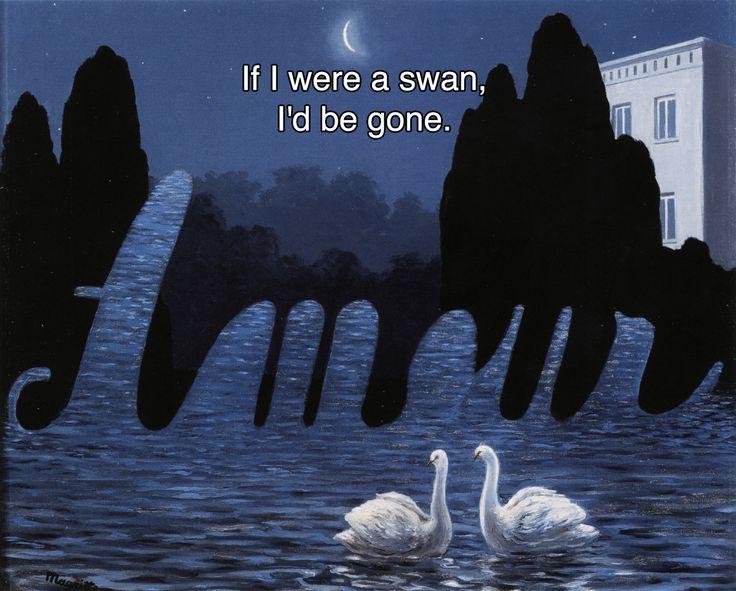 La Cascade René Magritte // Pink Floyd, If (I)