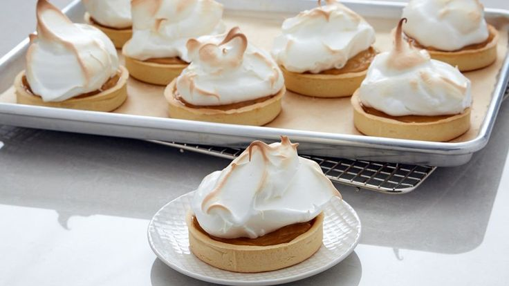 Individual Butterscotch Meringue Tarts | Asian Food Channel