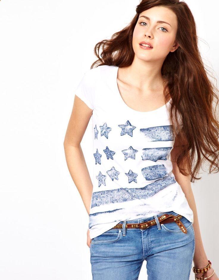 Wrangler | American flag t-shirt via ASOS $42