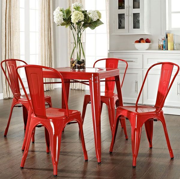 Best 25+ Red dining chairs ideas on Pinterest | DIY furniture ...