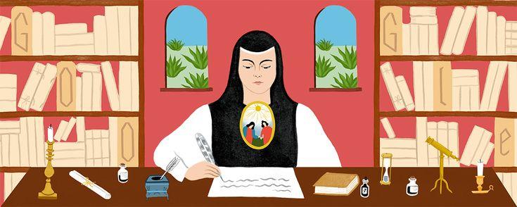 Sor Juana Inés de la Cruz's 366th Birthday Nov 12, 2017