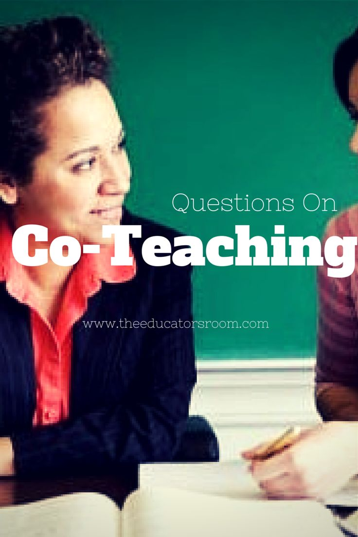 Questions on co-teaching. #teachers #specialeducation