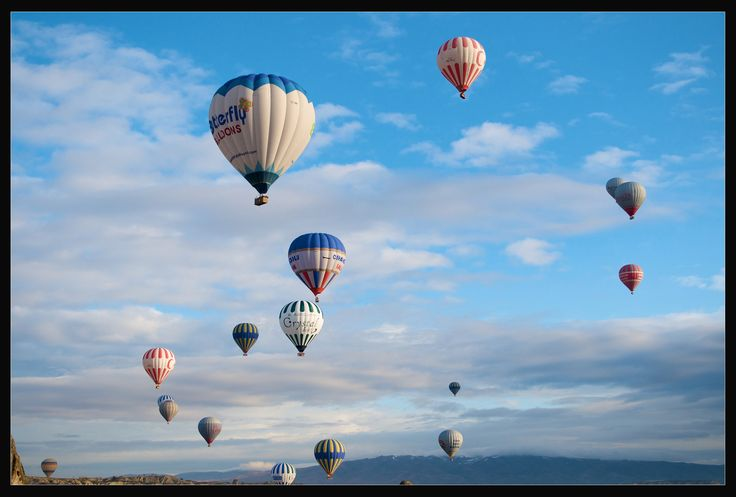 https://flic.kr/p/bMw9KH | Cappadocian Morning | A typical sight every morning in Cappadocia. Hot air balloons ferrying tourist to enjoy the magic of Cappadocia from the air.