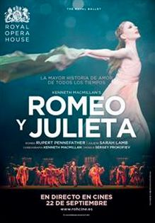 Disfruta hoy de la mayor tragedia romántica de #Shakespeare en versión de Kenneth MacMillan en tu #CCPlazadeArmas con Cinesa http://goo.gl/dnq4I9