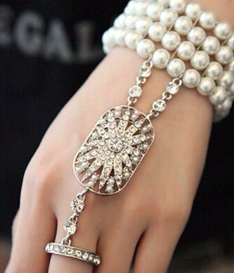Vintage armbånd The Great Gatsby - Kjøp i nettbutikken vår eller i butikk ABELONE.NO