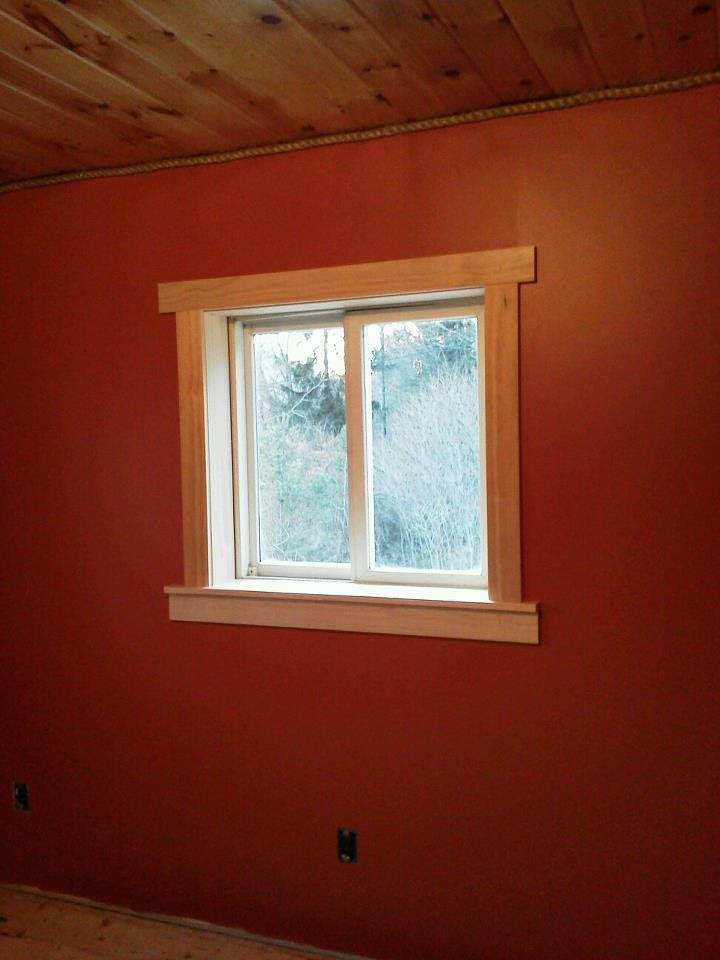 master bedroom window trim for the home pinterest