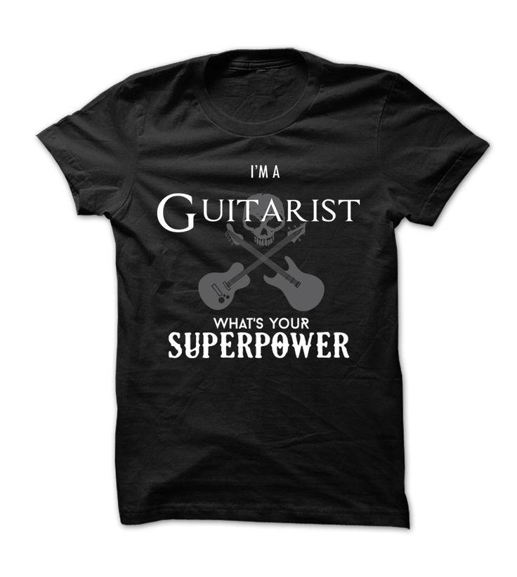 Awesome guitarist shirt - Tshirt