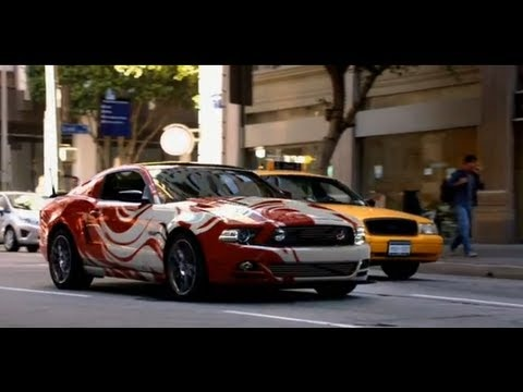 The New Ford Mustang...