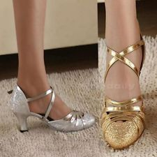 Latin Shoes High Heel 6cm Women Bling Shoes Ballroom Dancing Modern Shoes NCYG