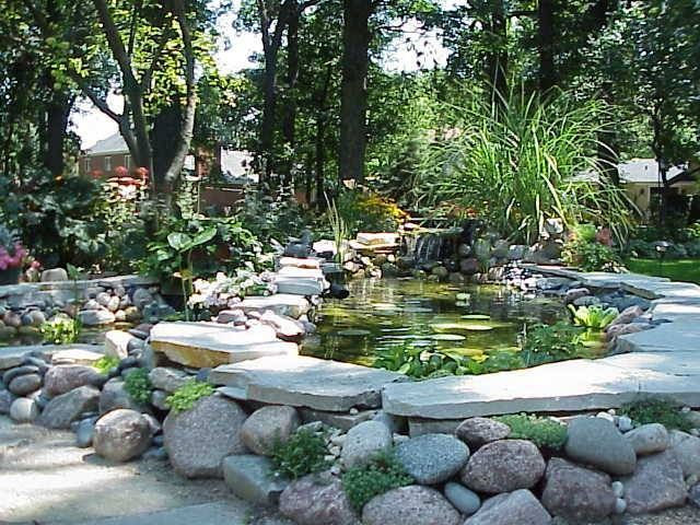 25 best ideas about above ground pond on pinterest pond for Above ground koi pond design ideas