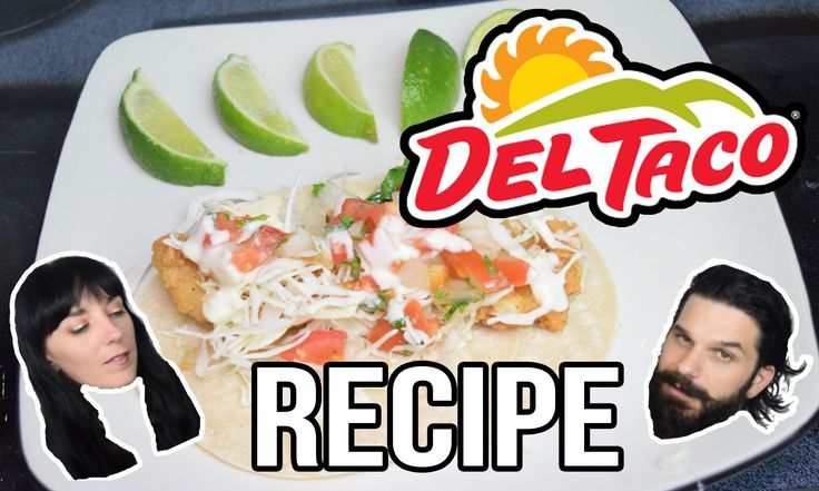 Del Taco - Beer Battered Fish Taco COPYCAT RECIPE