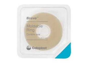 ブラバ モルダブルリング 「1枚貼り」のシンプルケアで皮膚を守り、漏れを防ぐ!  ブラバモルダブルリングはストーマ周囲の径の動きに合わせて伸縮し追従するため、皮膚を排泄物から守り。漏れを防ぎます。 手で簡単にストーマサイズに広げることができ、装具装着に手間がかかりません。