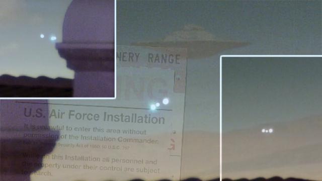 Noticia Final: Ufólogo filma ÓVNI na área 51 e prova que naves mi...
