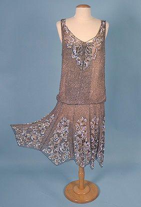 17  ideas about 1920s Vintage Dresses on Pinterest - Flapper ...
