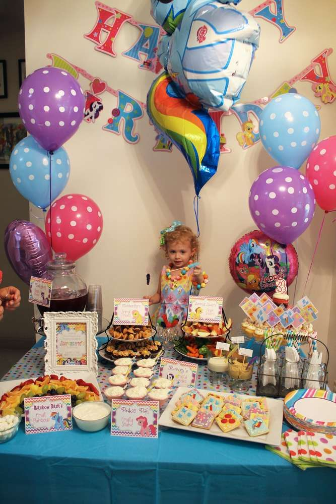 My Little Pony Birthday Party Ideas   Photo 4 of 18   Catch My Party