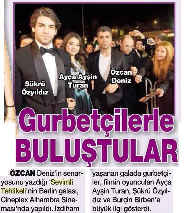GURBETÇİLERLE BULUŞTULAR / HT Magazin (14.02.2015)