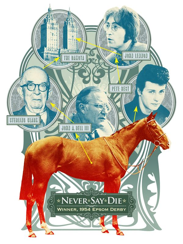 Wall Street Jounral: Never Say Die © Sean McCabe #illustration
