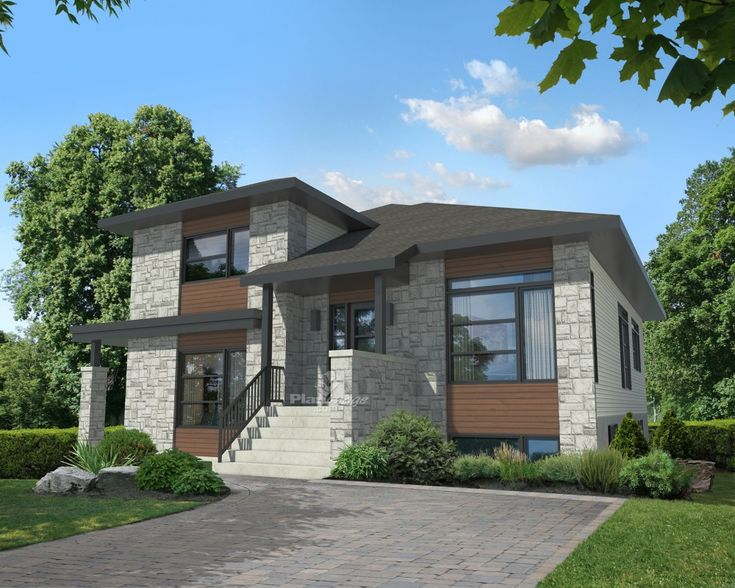 With its aluminum, stone and wood exterior facing, this intergenerational house will blend unobtrusively in a residential area and is ideally suited for a couple who wants to live with aging parents. Consisting of two independent units, this home is 36 feet wide by 38 feet deep, and provides a total living area of 2,051 square feet. <br/>  Each unit has its own entrance, one in front of the house, and the other on the side. Furthermore, both units can be accessed from the inside through a…