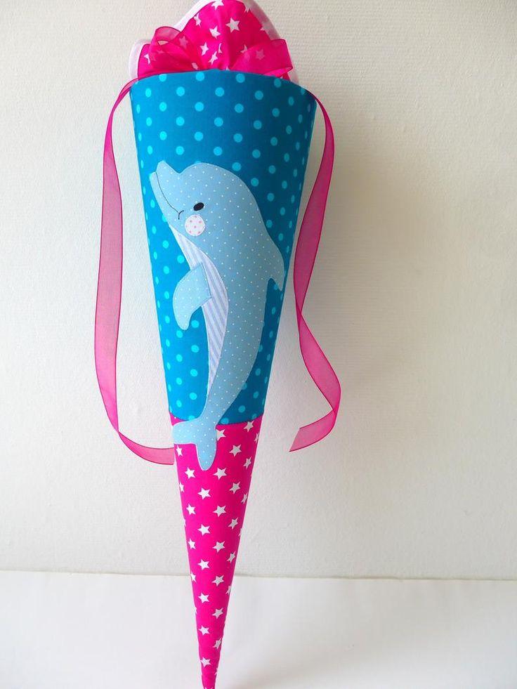 delfin schultüte später dolphins dolphin aus stoff