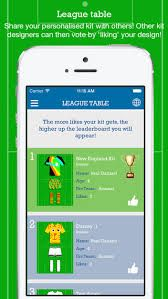 Designakit.  Brand new free app for kids of all ages. Keep them amused for hours. Design your own football kit - It's free - with options to purchase further designing features.  You tube instructions.  Try it now...