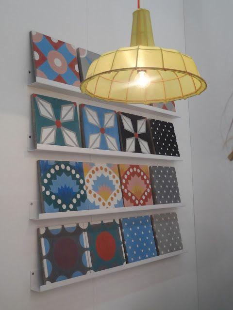 Photo @ Atelier rue verte / Maison&Objet 13/ Petit Pan Carreaux ciment